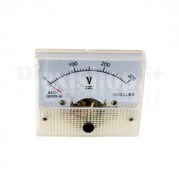 Voltmetro analogico da pannello