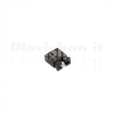Confezione da 20 Shunt pin jumper 2.54 mm