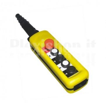 Comando Pensile 4 pulsanti + emergenza - Doppia velocità