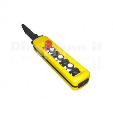 Comando Pensile 6 pulsanti + Emergenza - Doppi contatti