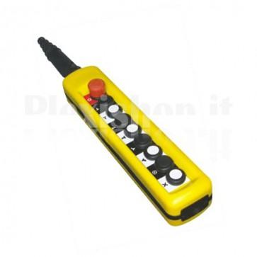 Comando Pensile 8 pulsanti + emergenza - Doppia velocità