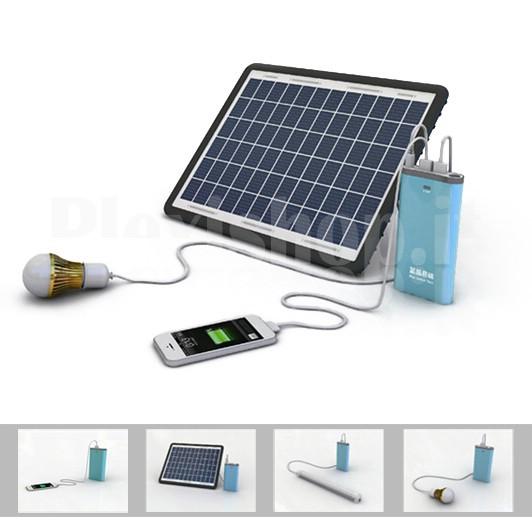 Sistema fotovoltaico 10w portatile pannello fotovoltaico portatile kit - Pannello fotovoltaico portatile ...