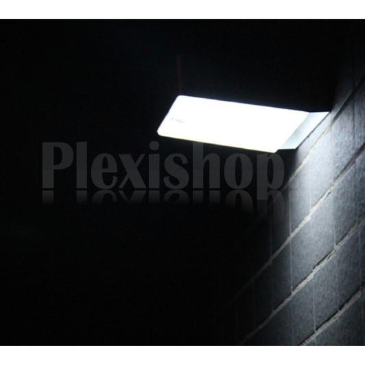 Plexishop It Lampada Led Solare In Alluminio Da Esterno Con