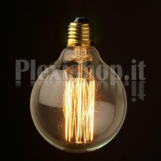 Plexishop.it - Lampadina Edison - Globo 95mm - Lampadina Vintage