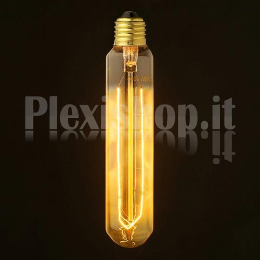 Plexishop.it - Lampadina Edison - Lampadina a tubo - Lampadina Vintage