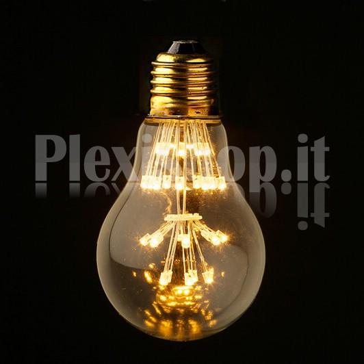 ... Lampadina Edison a Led - Lampadina a led goccia - Lampadina a led