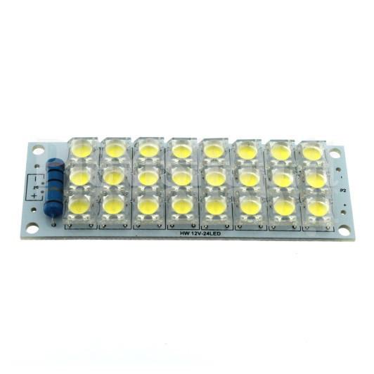 LED ad altissima luminosità - Modulo LED 12Vcc - Modulo a 24 LED