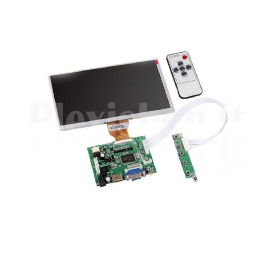 Plexishop It Display At090tn10 Lcd Tft 9 Per Raspberry