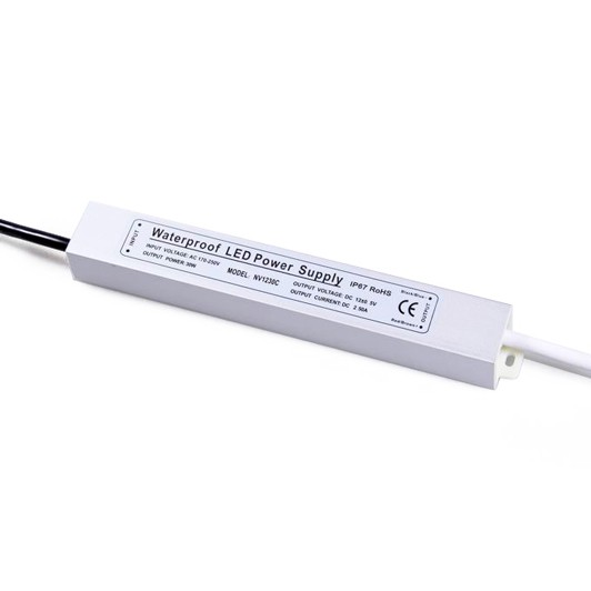 plexishop.it - alimentatore super slim 24 volt - 20w - alimentatore