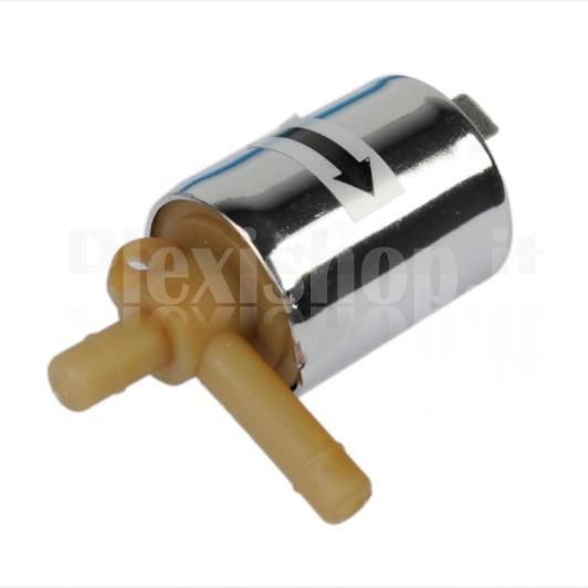 Valvola in plastica per acqua o aria a for Tubi per acqua in plastica e rame