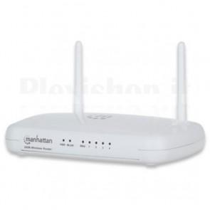 Router Wireless N 300Mbps, 4 porte Lan + porta WAN
