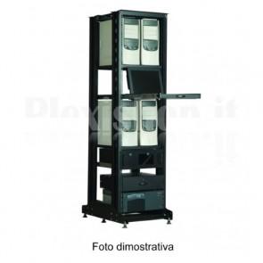 Rack 19'' Open Frame 36 Unita' P 600 Nero