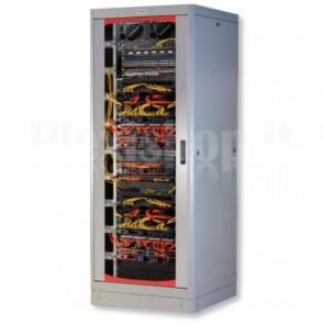 Armadio Rack 19'' 600x600 27 Unita' Grigio