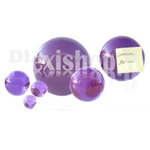 Sfera in Plexiglass Viola da 150mm