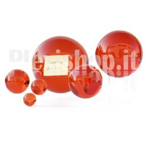 Sfera in Plexiglass Rosso da 200mm