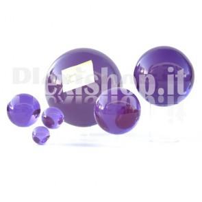 Sfera in Plexiglass Viola da 200mm