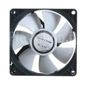 Ventola Silent 80x80x25 12V con Controllo Intelligente PWM