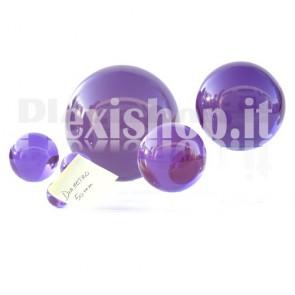 Sfera in Plexiglass Viola da 50mm