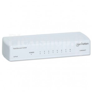 Switch 8 porte 10/100Mbps Fast Ethernet