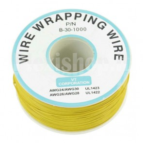 Bobina Cavo wire/wrapping 30AWG - Giallo