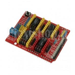 CNC shield per arduino con 4 drivers  A4988