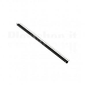 Connettore strip line pin maschio angolare 1x 40 pins passo 2,00mm