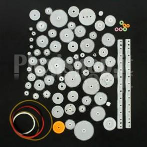 Kit 75 componenti meccanici plastici per prototipo