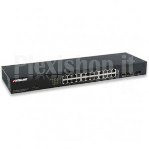 Ethernet Switch Gigabit Web-Managed 24 porte con 4 porte SFP