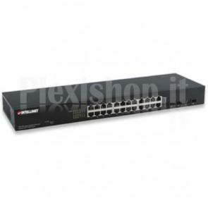 Ethernet Switch Gigabit Web-Managed 24 porte con 4 porte SFP