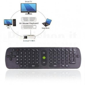 Mini Tastiera RC11 Air Mouse PC Android/Win/Linux