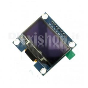 """Modulo Display OLED LCD Blu 1.3"""" SPI"""