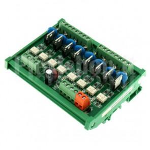 Modulo Optoisolato con SCR per PLC a 8 canali, 3.15A
