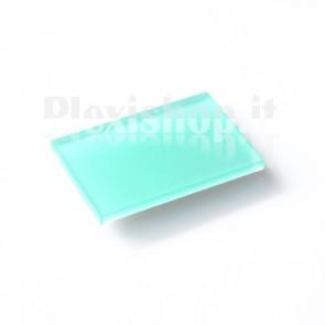 Plexiglass Bicolato - Verde Menta/Bianco