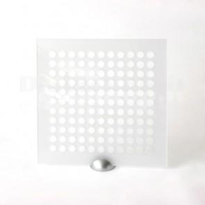 Plexiglass Preforato Trasparente - Bubble 15