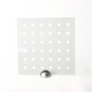 Plexiglass Preforato Trasparente - Bubble 30