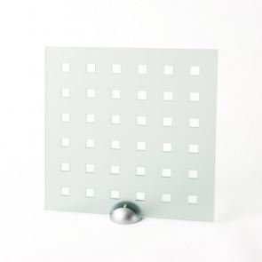 Plexiglass Preforato Trasparente - Square 30