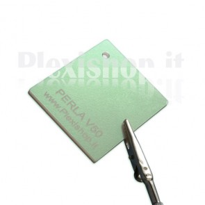 Plexiglass bianco PERLA V50 - Perlescenza verde