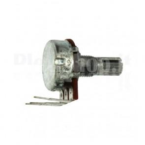 Potenziometro rotativo 250K montaggio PCB - B250K