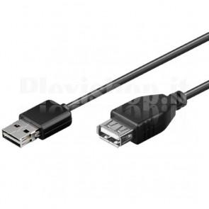 Prolunga USB 2.0 Hi-Speed A maschio Ruotabile / A femmina 3 m