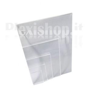 Tasca in Plaxiglass Trasparente-A7 (74 × 105 mm)