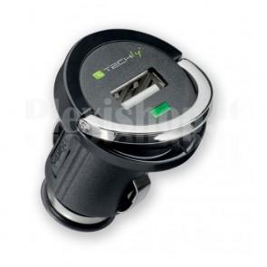 Adattatore Compatto USB per Presa Accendisigari 2100mAh