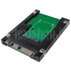 Adattatore da SSD mSATA a SATA 2.5''