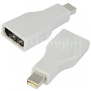 Adattatore DisplayPort 1.1 F/Mini DisplayPort M (Thunderbolt) Bianco