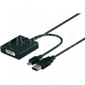 Adattatore MHL a DVI per dispositivi mobili