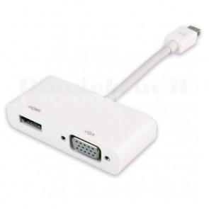 Adattatore Mini DisplayPort (Thunderbolt) a HDMI VGA