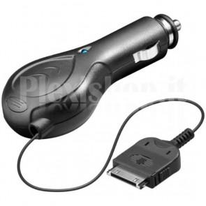 Alimentatore da Auto per Iphone/Ipod Nero 1Ah