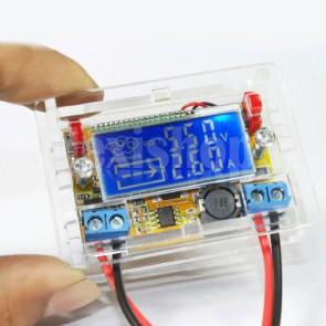 Alimentatore DC-DC step-down con visualizzazione su LCD di tensione e corrente