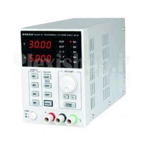Alimentatore di precisione da laboratorio digitale KA3005D, 0 ~ 30Vcc - 5A