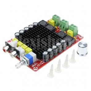 Amplificatore audio stereo, 100+100W TDA7498