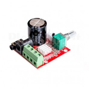Amplificatore audio stereo 10+10W, PAM8610